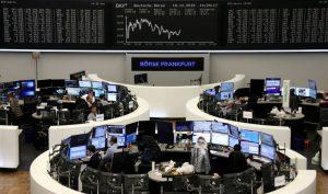 European shares inch higher on Brexit relief; Coronavirus fears cap gains
