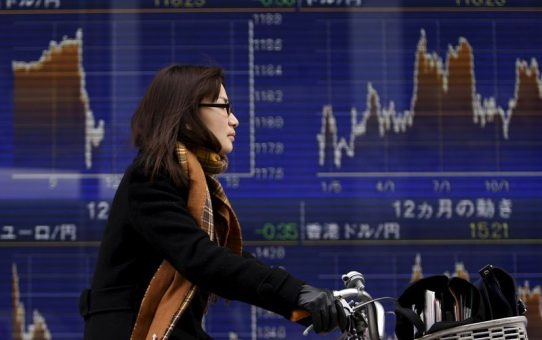 Asian Markets Rise as U.S. Drops China's Currency Manipulator Label