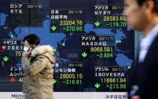 Asian shares gain after solid U.S. data, China edges up