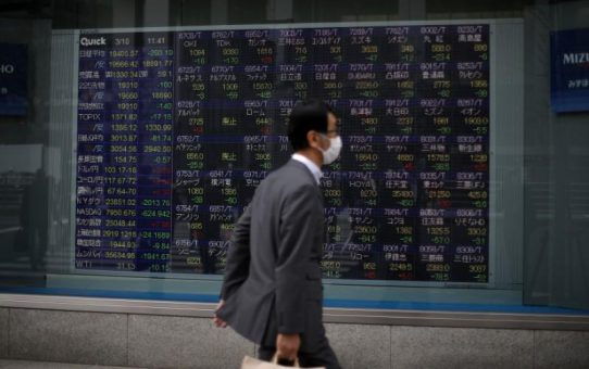 Asia shares bounce after rout, rush for dollars causing stress