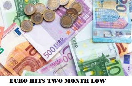 Euro Hits Nearly Two-Month Lows on Signs Covid Wave Hurting Recovery